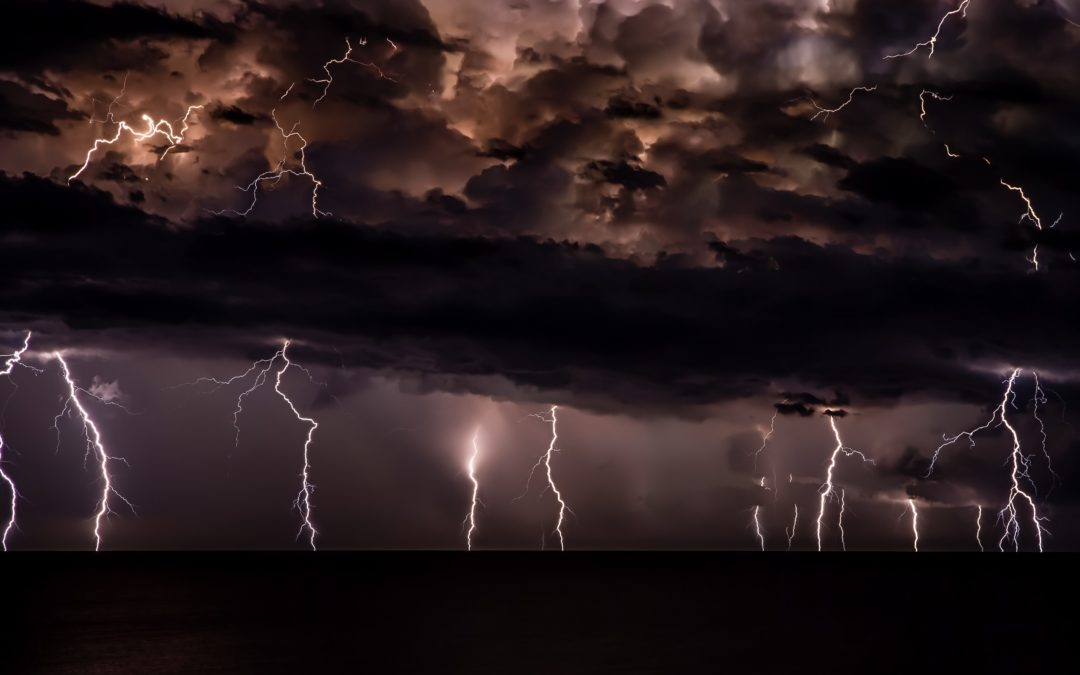 Yahweh Over the Storm